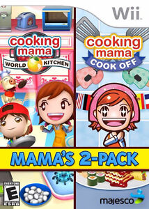 Cooking Mama 2 Pack Wii Cook off and World Kitchen