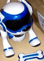 ROBOT DOG blue never been used