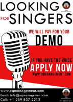 Auditions for a Free Demo