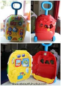 vtech roll and learn play suitcase