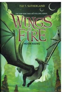 WINGS OF FIRE BY TUI T. SUTHERLAND -#2, 4, 5, 6 (HARDCOVER)