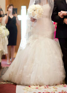 Designer Wedding Dress - ENZOANI - MUST SEE!!