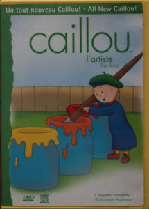 DVD Caillou, l'artiste - The artist