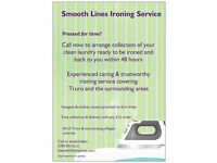 Smooth lines ironing service