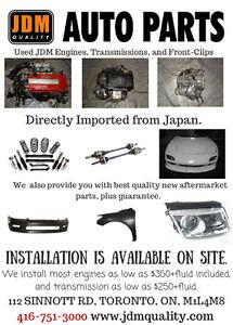 JDM Honda Toyota Nissan Mazda  Engines Trans. Bumper Fnder Lamp