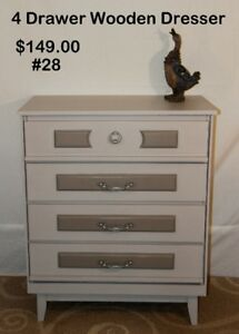 Various Styles of  dressers