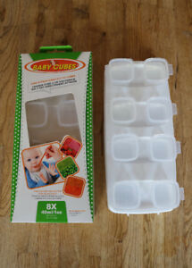 Baby food cubes - four sets, two sizes