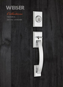 WEISER FRONT ENTRY DOOR LOCK SET