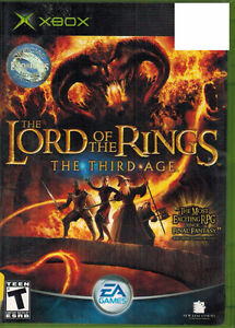 The Lord Of The Rings The Third Age - XBox Original