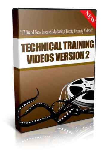 Technical Training Videos Version 2 (Digital Download) Master Resale Rights