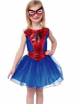 Spider-Girl Tutu Costume Dress Girls Kids Child Spider-Man Spidergirl Spiderman