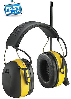 Peltor 3m Worktunes Amfmmp3 Digital Noise Reduction Earmuffs Headphones 90541