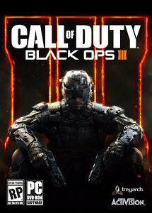Selling Almost new Call of duty black ops 3 half price