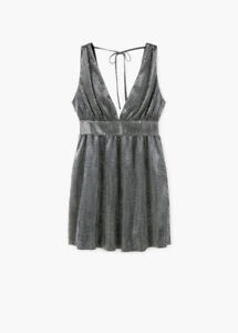 YSL Saint Laurent Plissé-lamé mini dress $4,110 reminiscent