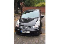 NISSAN NOTE SV 2006 PLATE 1.6