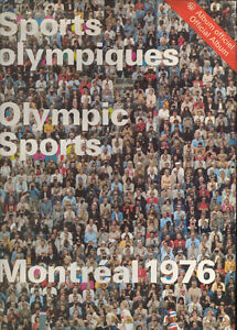 Sports Olympiques, Album Officiel, Montreal 1976