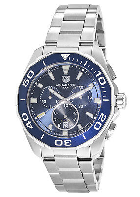 New Tag Heuer Aquaracer Blue Dial Men's Watch CAY111B.BA0927