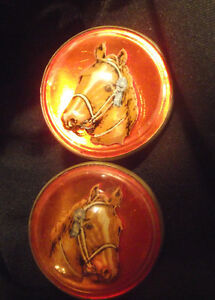 Set of Horse Rosettes for Bridle