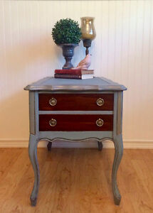 Beautiful French Provincial End Table