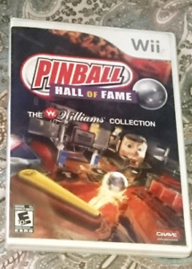 Pinball hall of fame the williams collection sur Nintendo Wii