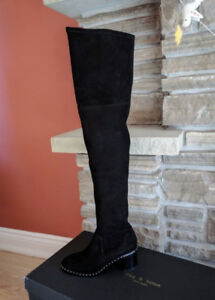 47a23a526b5 BRAND NEW Rag   Bone Rina over the knee black boots SIZE 38