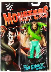 "WWE Monsters Jake ""The Snake"" Roberts Figure"