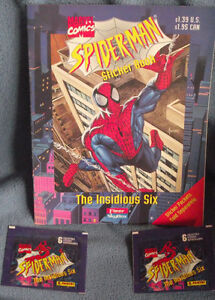 1996 Spiderman Sticker Book