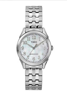Timex Women's TW2R48300 Briarwood Silver-Tone Stainless Steel