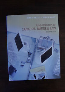 Fundamentals of Canadian Business Law, second edition
