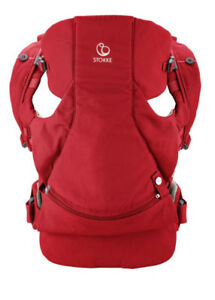 BABY CARRIER - STOKKE MYCARRIER FRONT CARRIER  - RED