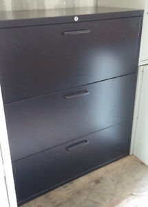 Used Teknion 3 Drawer Lateral