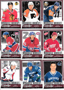 2008-09 O-PEE-CHEE OPC SERIE COMPLETE 1-600
