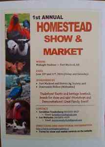 2 day homestead show and market