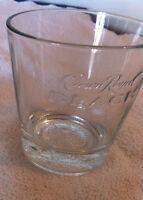 Crown Royal Black whiskey rocks glasses tumblers new, unused