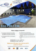 Heating Service and Pool/Service de Chauffage et Piscine