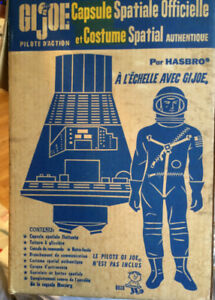 GI Joe Official Space Capsule and Space Suit