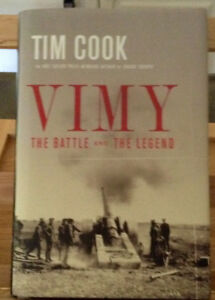 Vimy By Tim Cook (Signed copy)