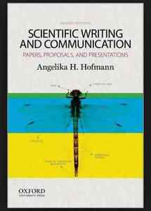 Text Book - Scientific Writing and Communincation by Hoffman