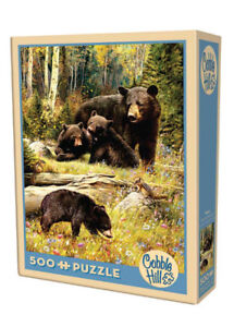 New sealed 500 pc  Cobble Hill jigsaw puzzle bears