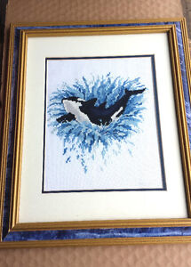 Picture – framed x-stich