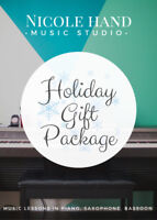 Lesson Package - Nicole Hand Music Studio