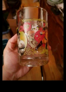 Mcdonalds collectible glass
