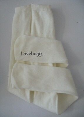 "Lovvbugg Ivory Tights for 18"" American Girl Doll Clothes Accessory"
