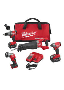 Milwaukee Fuel brushless 4 piece combo kit - new in box