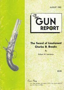 1982, THE GUN REPORT, 60 PAGES ILLUSTRÉES DE FUSILS & CARTOUCHES
