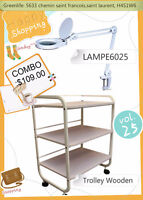 Combo1: Lamp Loupe+Trolley- Greenlife