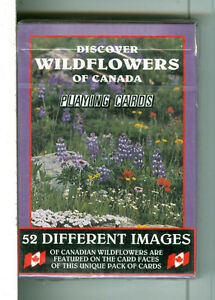 "Deck ""Canadian WildFlowers"" Playing Cards, Sea to Sky Photos Kitchener / Waterloo Kitchener Area image 1"