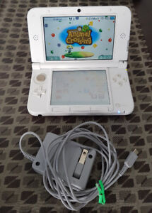 Nintendo 3DS XL with Animal Crossing New Leaf game included