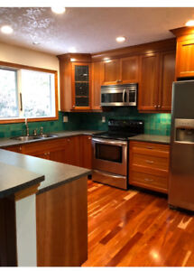 Private Cozy 2 bdr house for rent in North Saanich