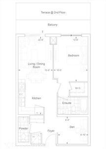 Bathurst/Centre Legacy Park Large One and Den/2nd Bedroom